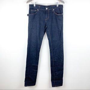 Zadig & Voltaire Darkside Brut Straight Leg Jeans